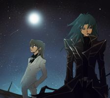 Under the night sky by TSUTAYA07