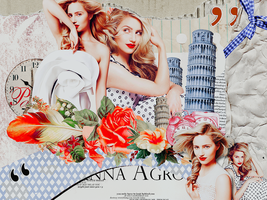 Wallpaper/Dianna Agron by smallElnis
