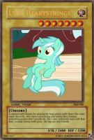 Lyra Heartstrings Yu-Gi-Oh Card by PokeMarioFan14