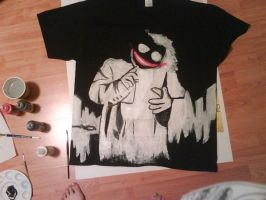 T-Shirt Finished-JOKER by carmietee