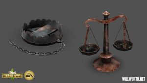 The Sims Medieval - Props 2 by DeadXIII