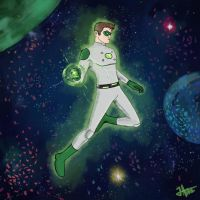 Green Lantern by thewipeout