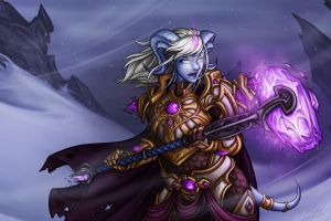 Frostfire Yrel - altered version by Noxychu