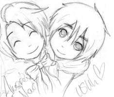 Request: Chibi UsUk by MoreTeaLove
