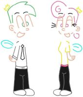 Cosmo and Wanda by AJcosmo