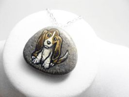 Beagle Pendant Necklace by sobeyondthis