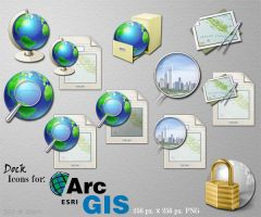 ArcGIS Dock Icons by ssx