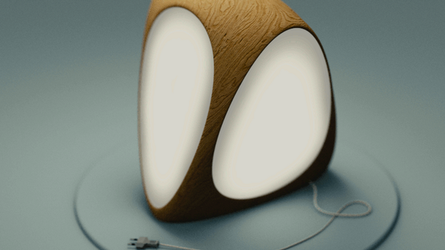 wooden lamp (blender / cycles) by hxw-araa