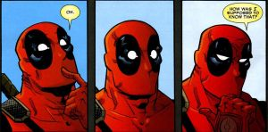 Deadpool: Oh by Ricard08