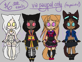 ..::ADOPTABLES 05::.. {OPEN} by ZombieComplex