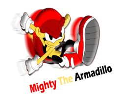 Mighty the Armadillo by tacofacedrawer