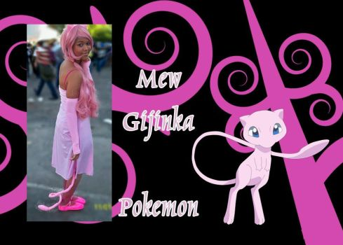 Mew cosplay by Ahrinx1