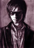 Toshiya Charcoal by jkearney