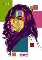 Jessica Torres in WPAP by alantrytolearn-art