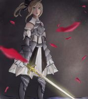 Saber lily by drowning-in-sass