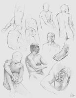 Figure Drawing Class 3 by AaronGriffinArt
