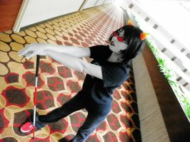 Terezi Pyrope cosplay by megelo
