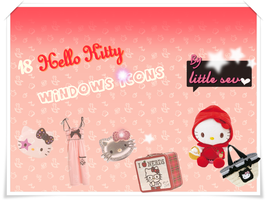 Hello Kitty Icons for Windows by littlesev