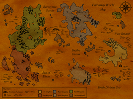 Fairamay World Map by icerose05