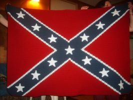 Confederate Flag by W0IfDreamer