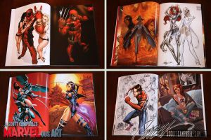 MARVELous Art of J. Scott Campbell: Interiors Prev by J-Scott-Campbell