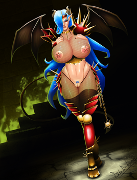 Lady Milflord contest entry by Dido-Antares