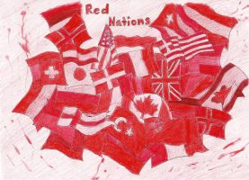 Red Nations by BloodyPaperAngel