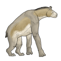Chalicotherium by WSnyder