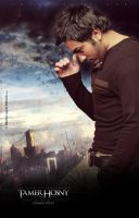 Tamer The Skyline Poster 2010 by adriano-designs