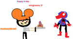 HAPPY  B-DAY ericgrooms3 by Deadmau5Nstuff