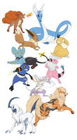 Pokemon Doodles - batch 2 by Majime
