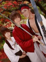 Rurouni Kenshin Cosplay ( movie version ) by Seke-Ume