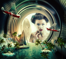 Detergent With Ocean Breeze Scent by Lhianne