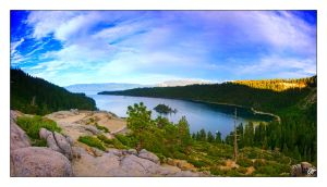 Emerald Bay Pano by dehrique