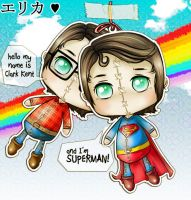 CK-Superman Dolls by walktothewater