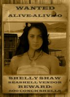Wanted - Shelly Shaw by cazcastalla