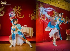 The Legend of Art Nouveau Chun Li by Benny-Lee