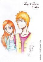 Ichihime on a date by Pearl-eye117