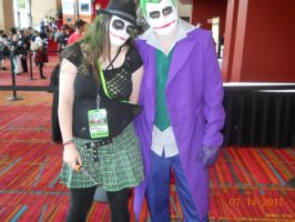 Joker and FemJoker at Connecticon by PsychoBabble192