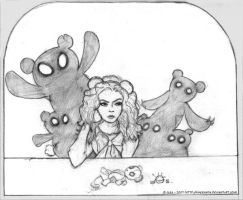 The Teddy bears' attack by Kheenaria