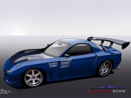 Racinghart FD3S RX-7 by FuseEST