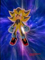 RUSH THE HEDGEHOG Super Form by Chase-TH
