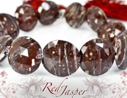 Red jasper by BeadsofCambay