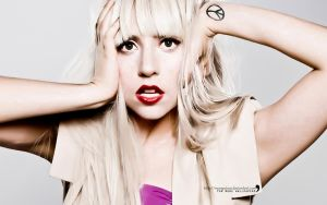 Wallpaper, Lady Gaga by MorePoison