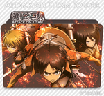 Attack on Titan Icon Folder by LinaLeeL