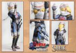 Hyrule Warriors Sheik Papercraft Download by XenonRay