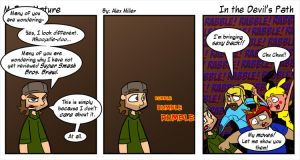 In The Devil's Path by MFM-comics