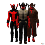 MH - Deadpool Pack I by Postmortacum