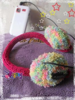 my knitting : Headphone Cozy by her-name-is-ajeng