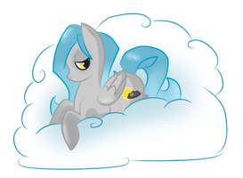 Request: Cloudy Falls by Stickaroo